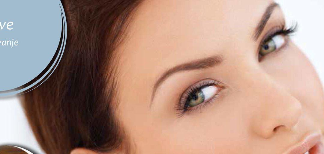 Obrve – ukras lica, izraz ženske osobnosti, naglasak oka