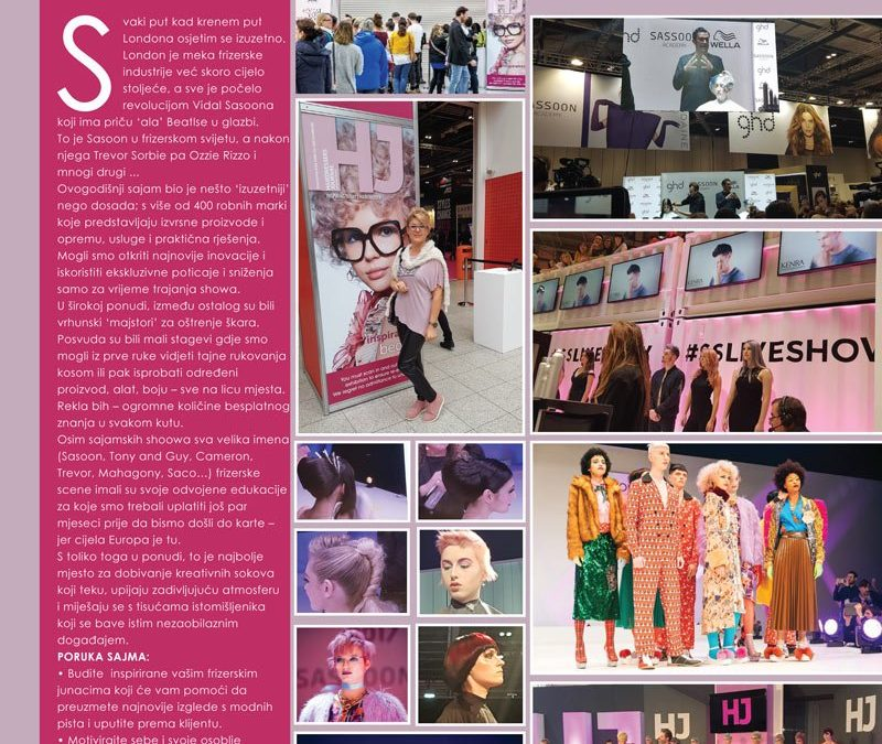 SALON INTERNATIONAL, EXEL LONDON 2017